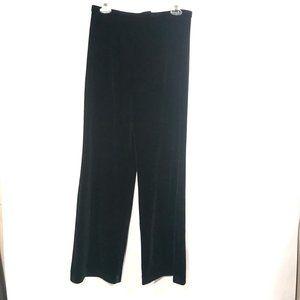CHETTA B Black Luxury Velour Lounge Pants Leggings